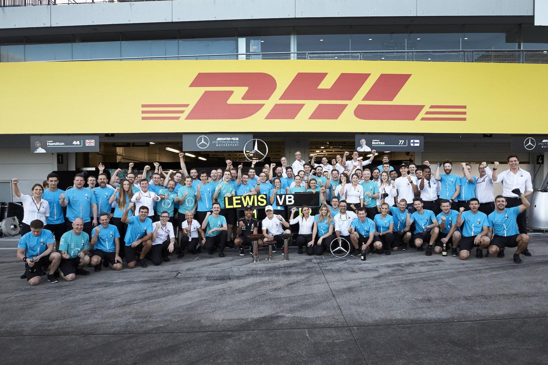 Y 2018 Mercedes team celebrating 1 2 at Suzuka | 2018 Japanese GP copy.JPG