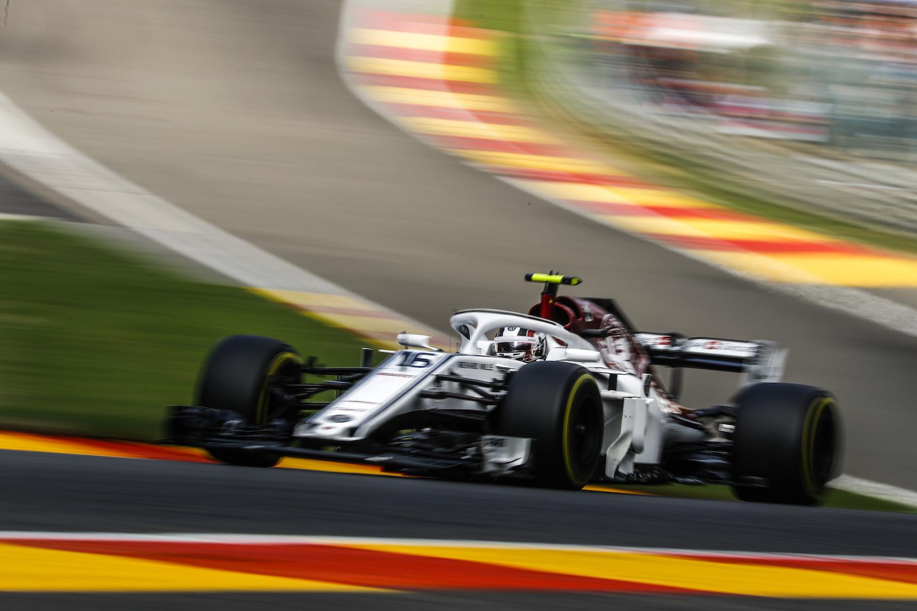 10 - Charles Leclerc at Belgium