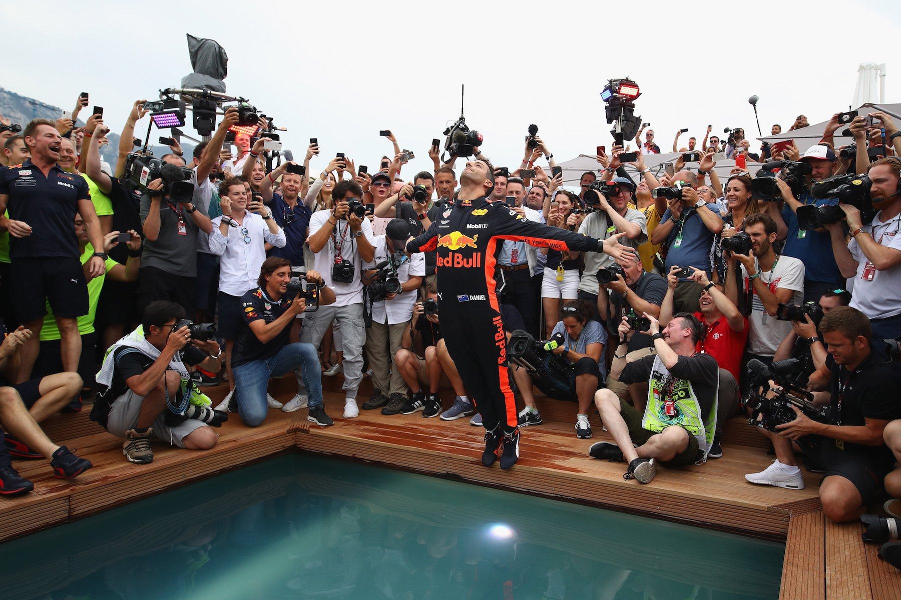 4 - Daniel Ricciardo at Monaco