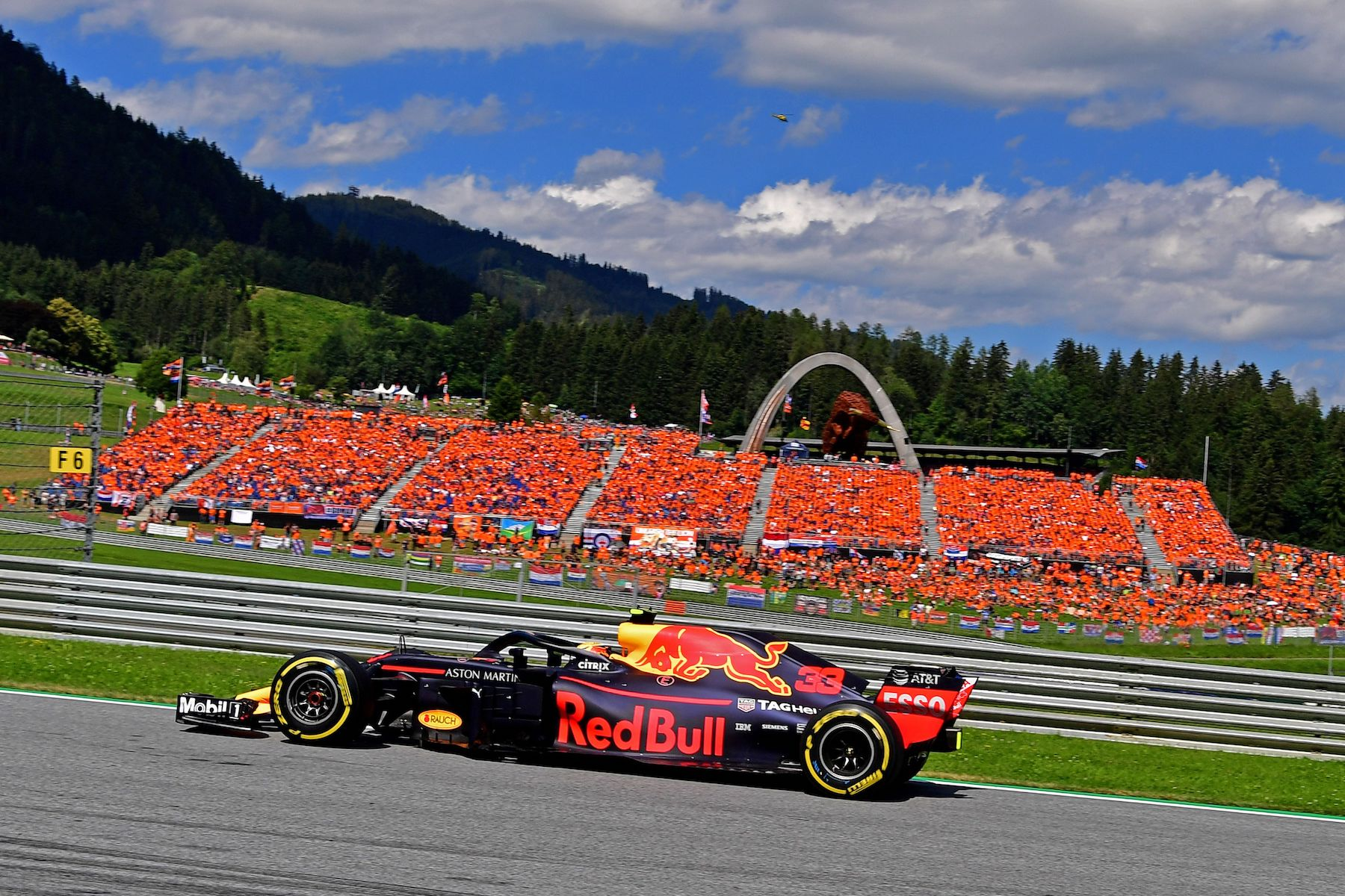 2018 Max Verstappen | Red Bull RB14 | 2018 Austrian GP winner