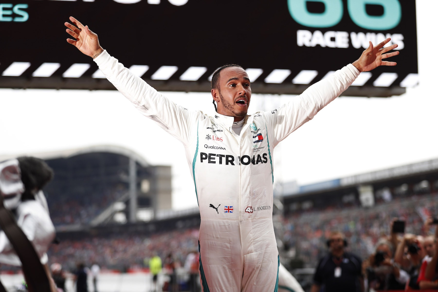 2018 Lewis Hamilton | Mercedes W09 | 2018 German GP winner