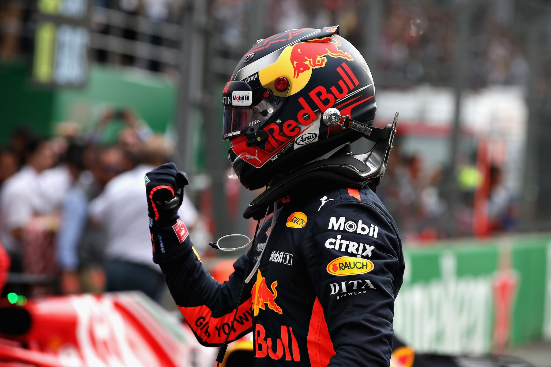 2018 Max Verstappen | Red Bull RB14 | 2018 Mexican GP winner
