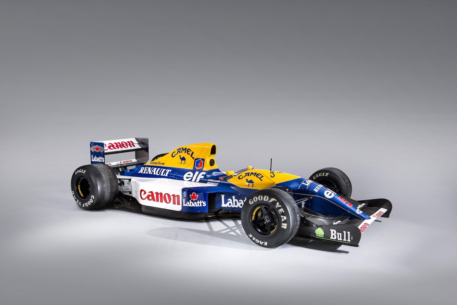 1992 Williams FW14B at Bonhams 2019 FoS 2 copy.jpg