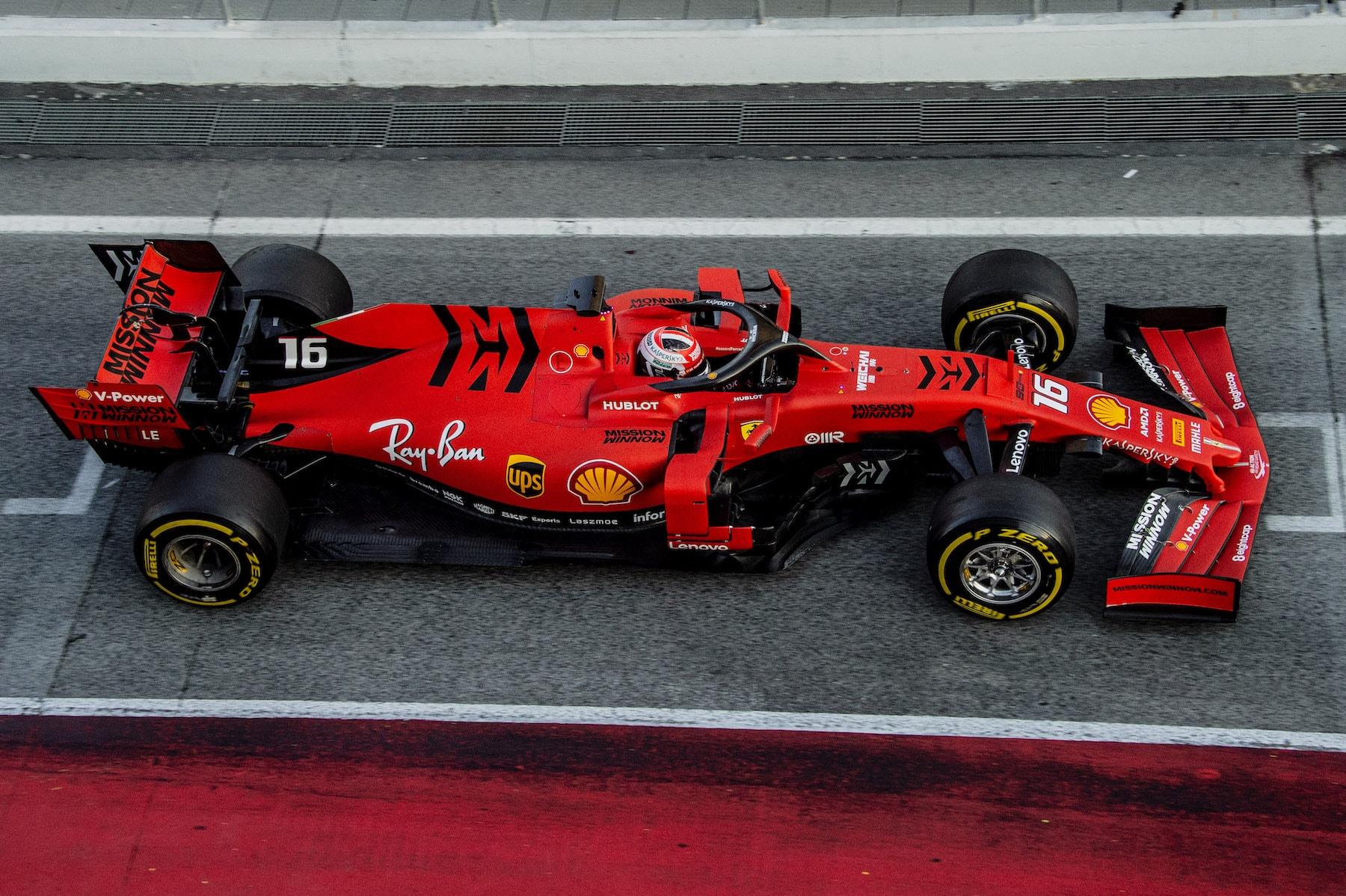 2019 Charles Leclerc | Ferrari SF90 | 2019 Barcelona T2 D3 1.jpg