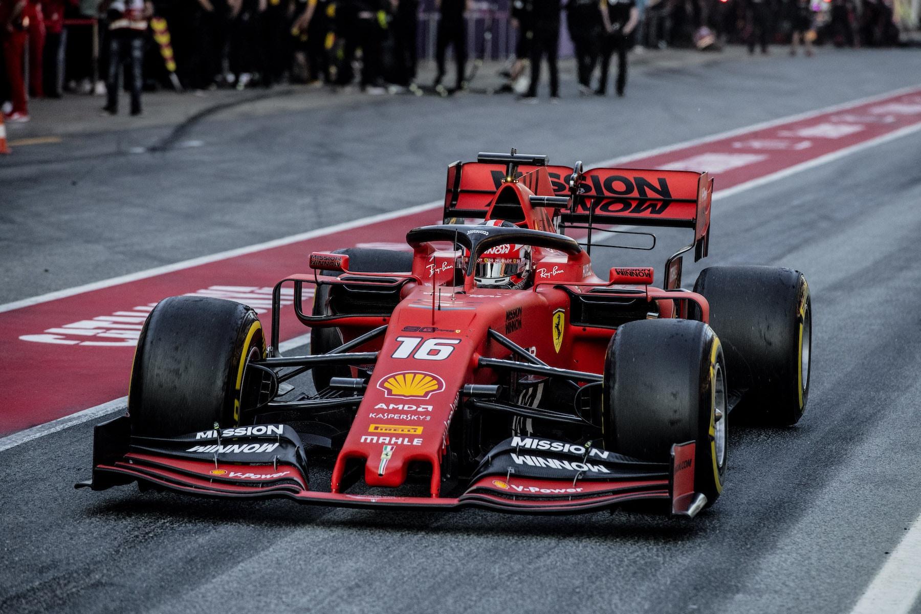 2019 Charles Leclerc | Ferrari SF90 | 2019 Barcelona T2 D3 2.jpg