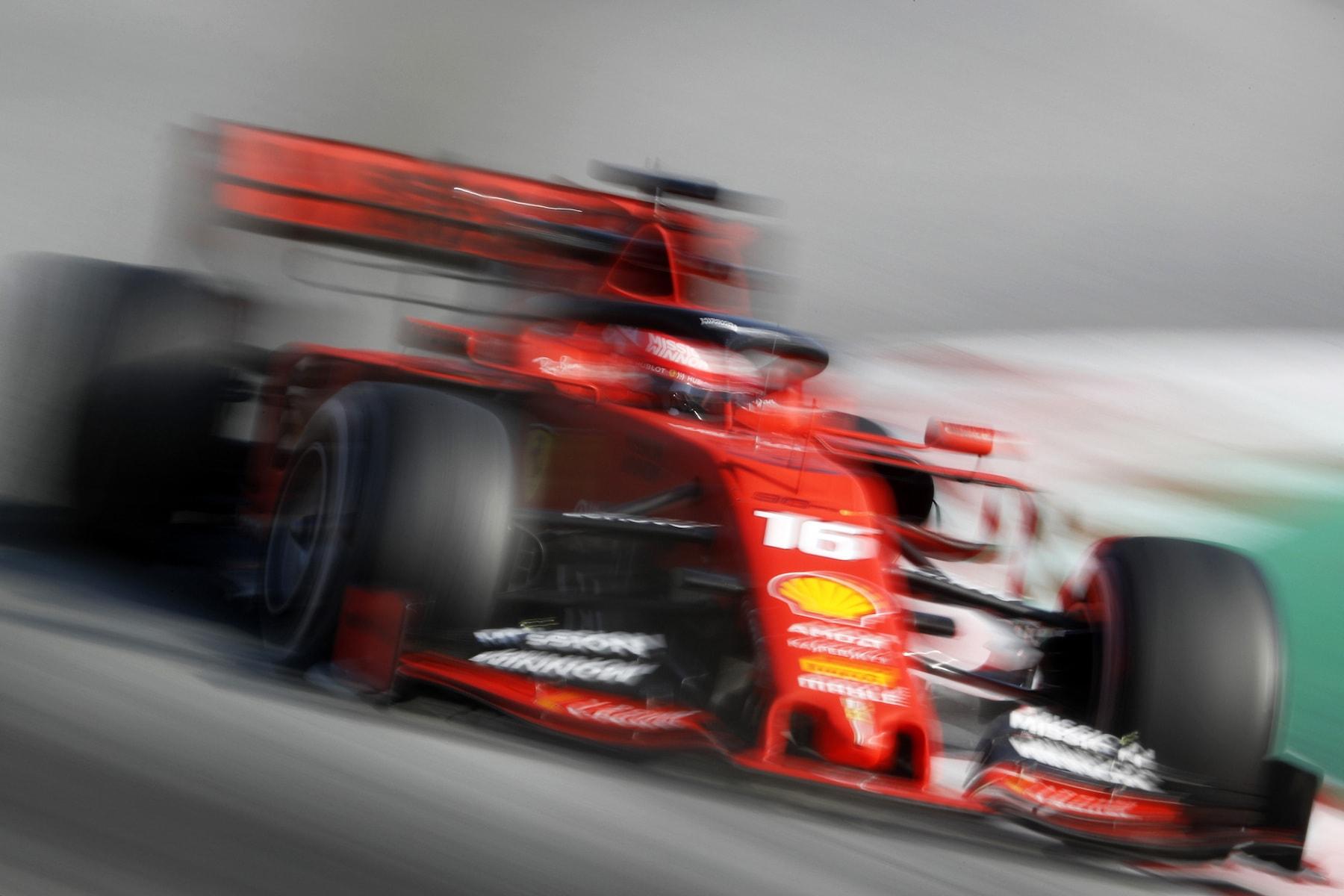 2019 Charles Leclerc | Ferrari SF90 | 2019 Barcelona T2 D3 5.jpg