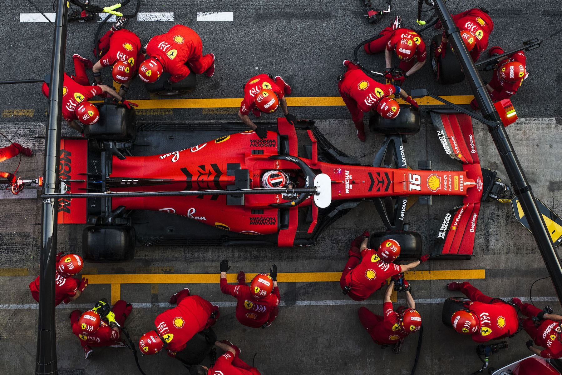 2019 Charles Leclerc | Ferrari SF90 | 2019 Barcelona T2 D3 6.jpg