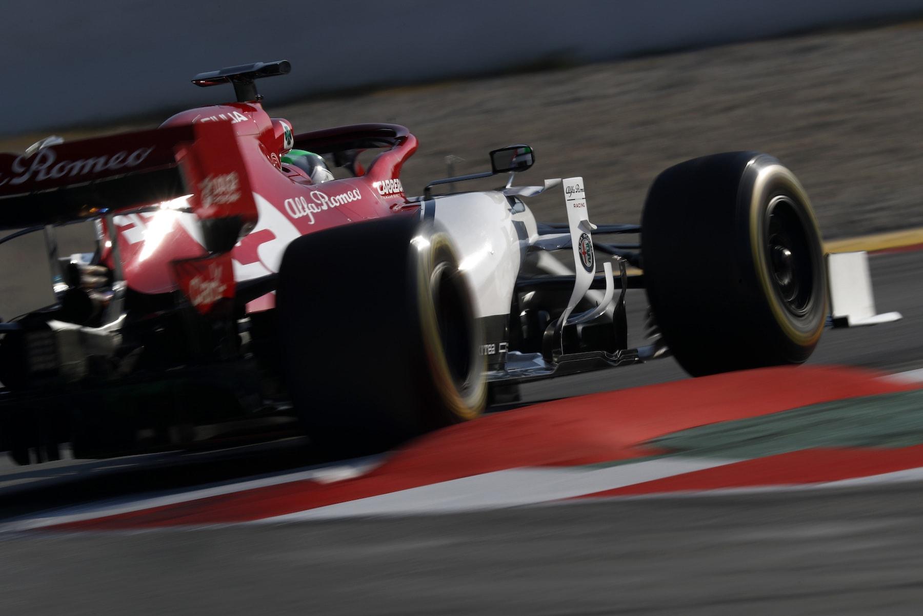2019 Kimi Raikkonen | Alfa Romeo C38 | 2019 Barcelona T2 D3 1.jpg