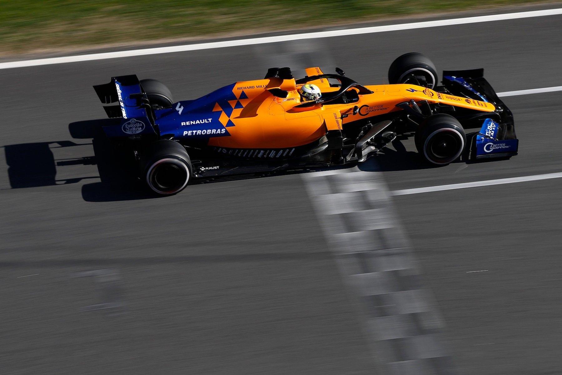 2019 Lando Norris | McLaren MCL34 | 2019 Barcelona T2 D1 1.jpg