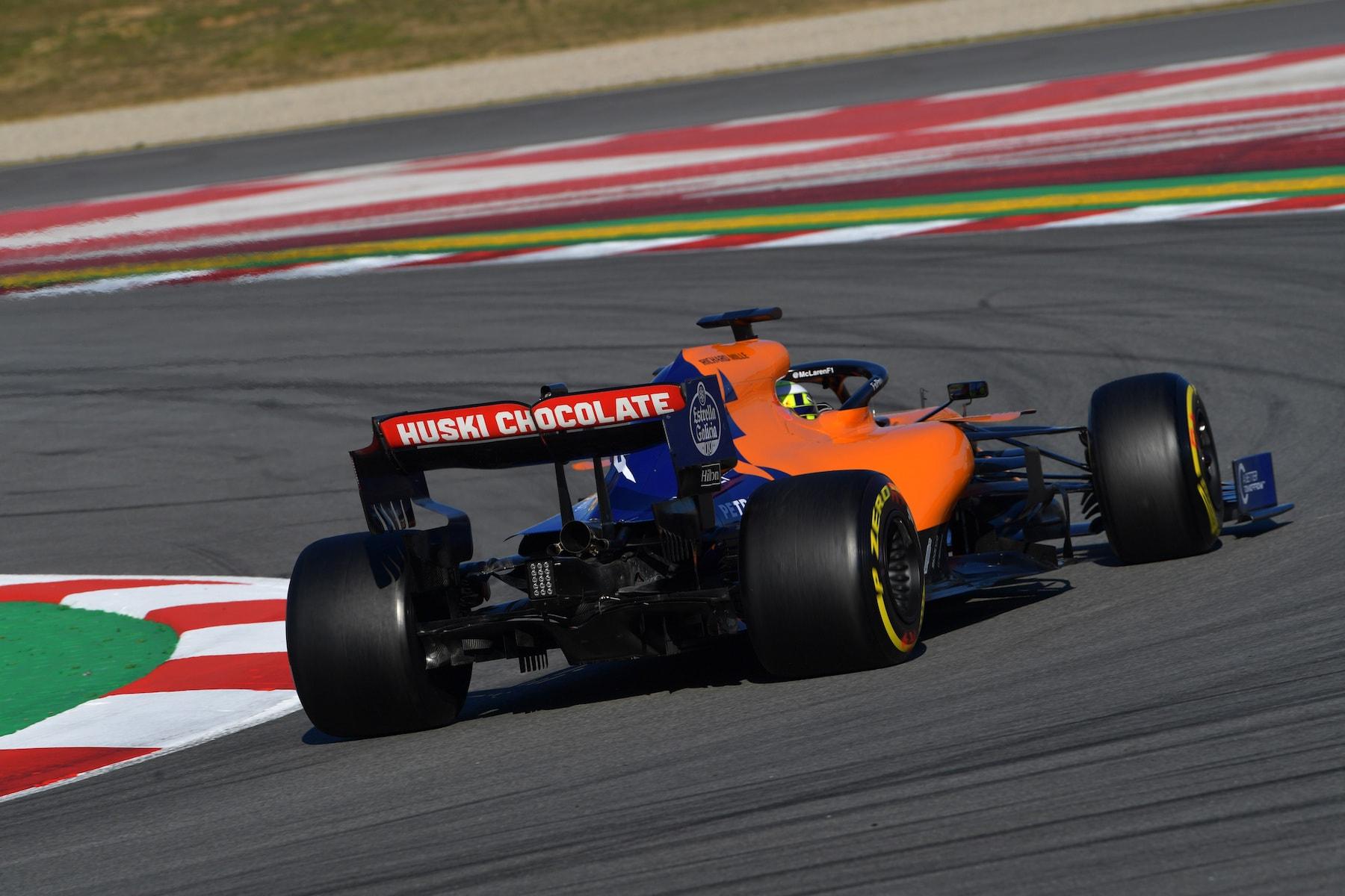2019 Lando Norris | McLaren MCL34 | 2019 Barcelona T2 D1 2.jpg