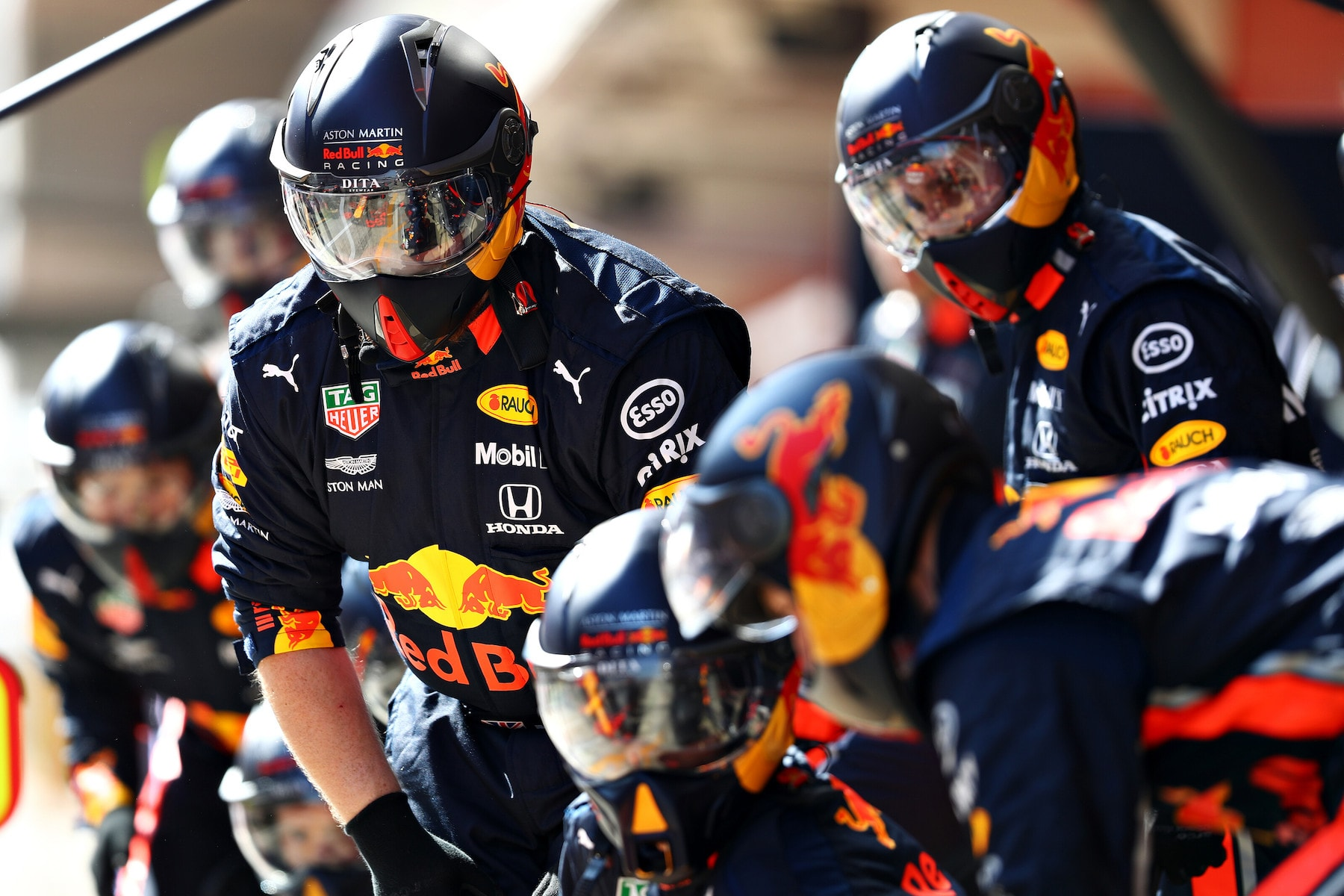 2019 Red Bull Team mechanics | 2019 Barcelona T2 D4 1.jpg