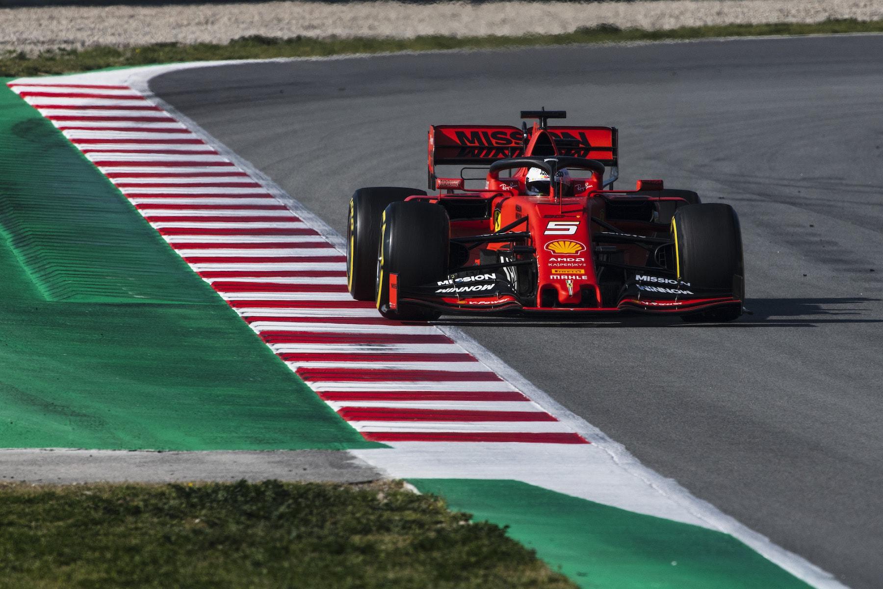 2019 Sebastian Vettel | Ferrari SF90 | 2019 Barcelona T2 D4 5.jpg