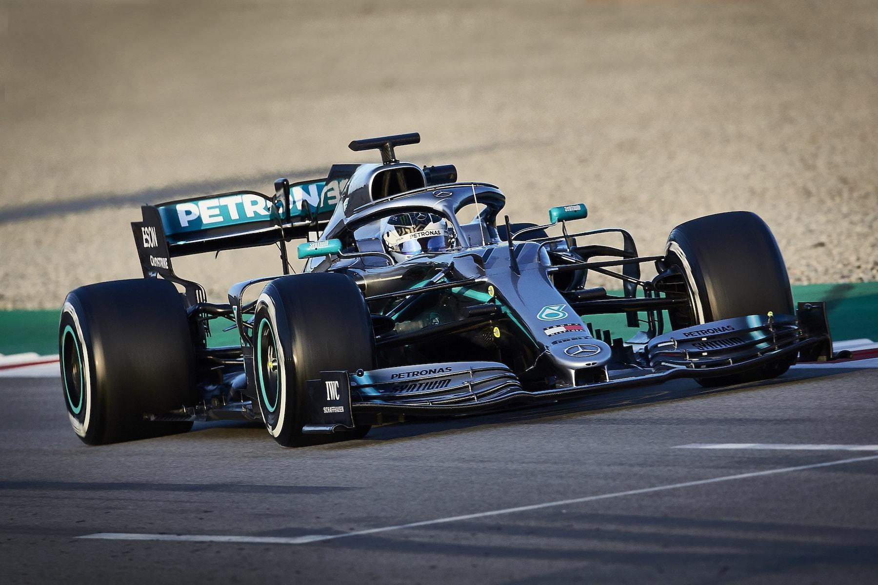 2019 Valtteri Bottas | Mercedes W10 | 2019 Barcelona T2 D3 1.JPG