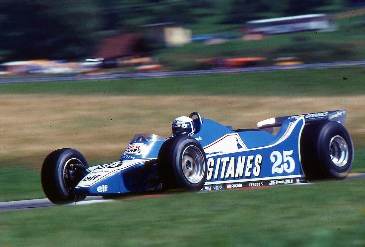 1980 Didier Pironi | Ligier JS11:15 | 1980 Austrian GP 1 copy.jpg