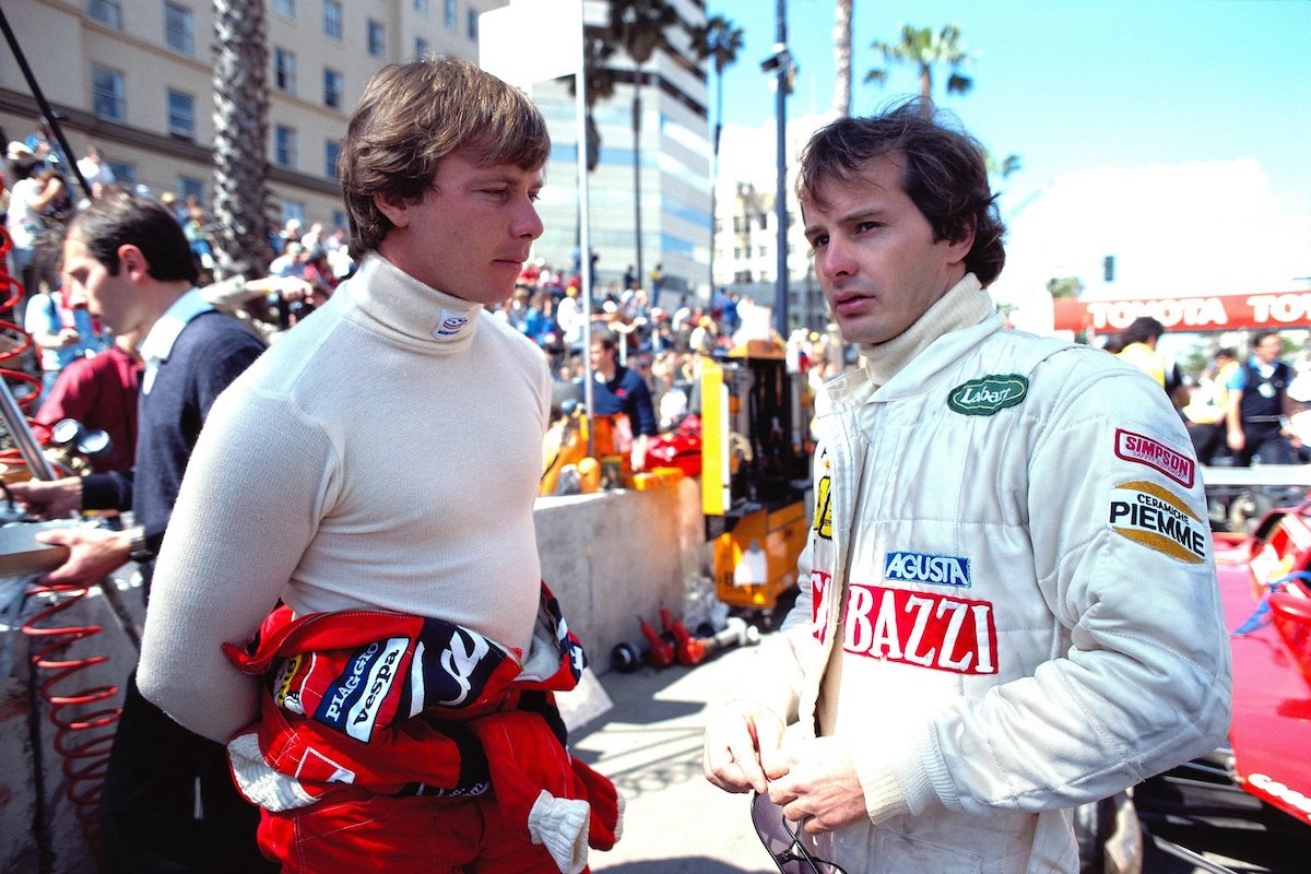 1982 Gilles Villeneuve and Didier Pironi | 1982 USGP at Long Beach.jpg