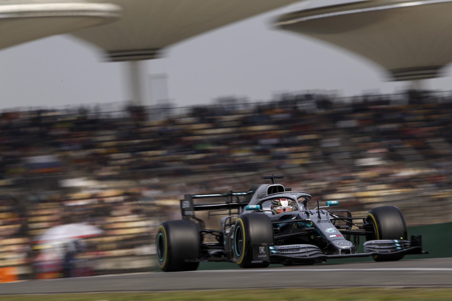 2 2019 Lewis Hamilton | Mercedes W10 | 2019 Chinese GP Q 2 copy.JPG