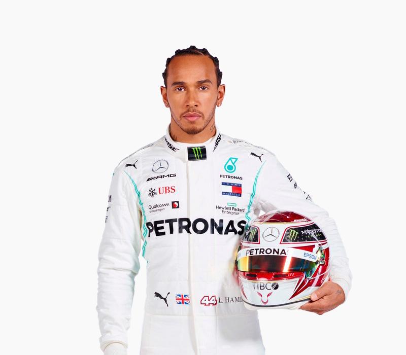 44 - Lewis Hamilton