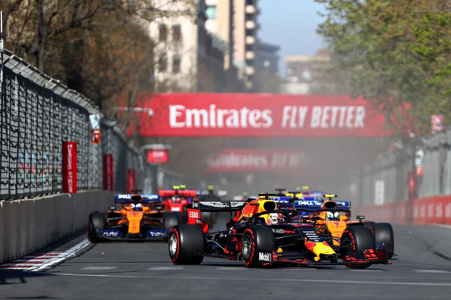 2019 Max Verstappen | Red Bull RB15 | 2019 Azerbaijan GP P4 2.jpg