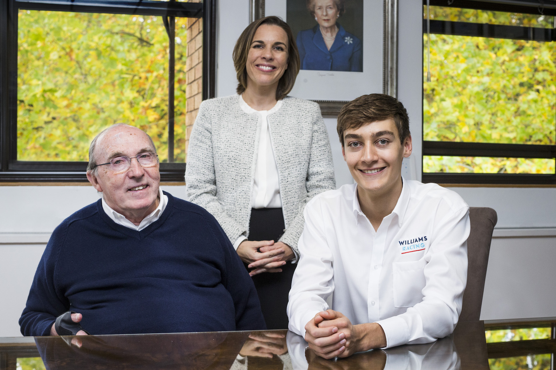 2018 Frank Williams, Claire Williams, and Goerge Russel copy.jpg