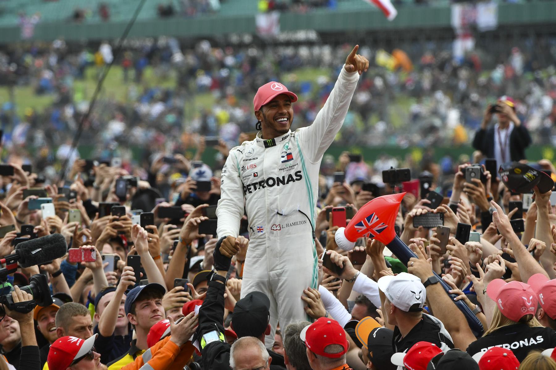 Lewis Hamilton | 2019 British Grand Prix winner