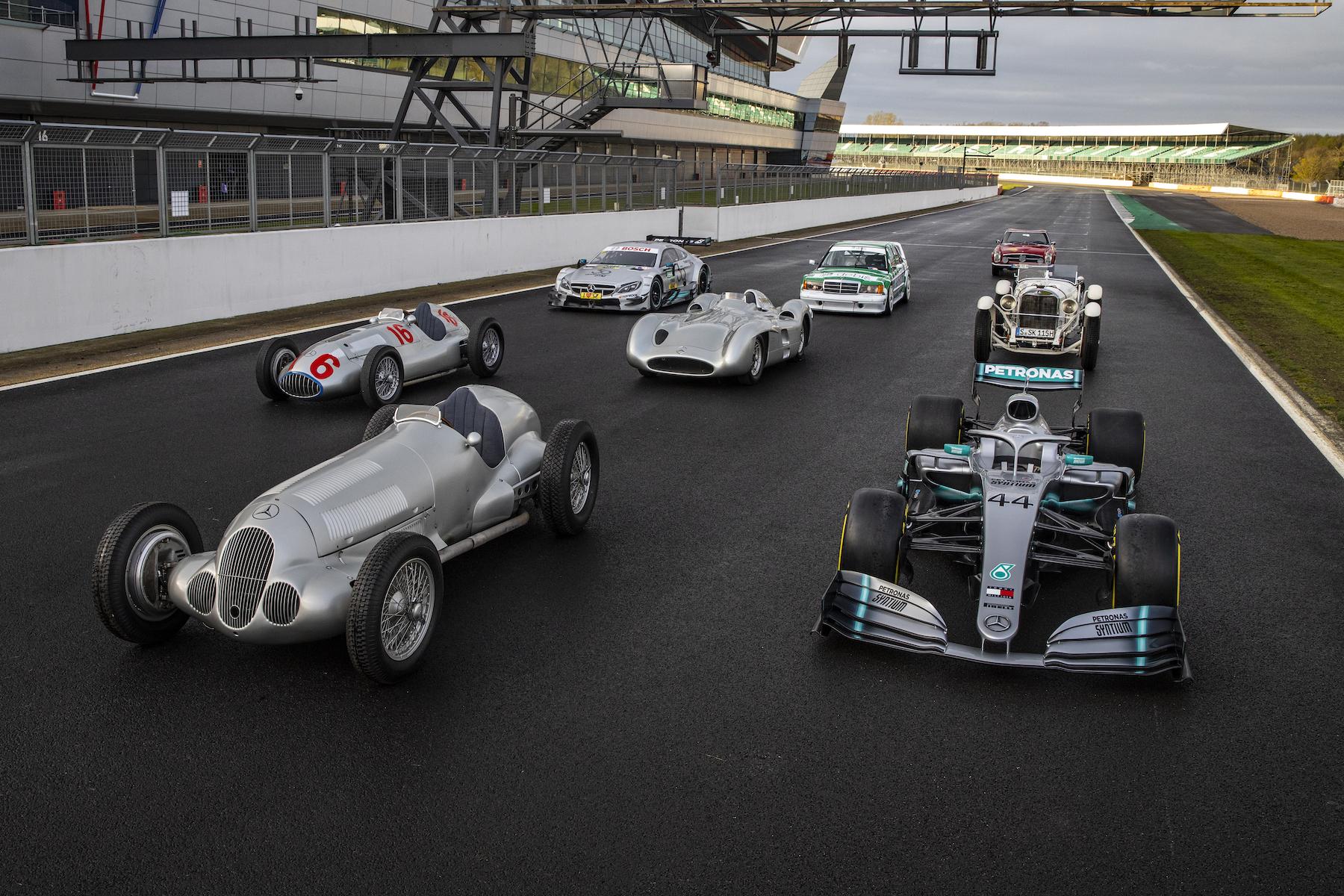 2019 Mercedes 125 years in Motorsports celebration | 2019 Silverstone 16.jpg
