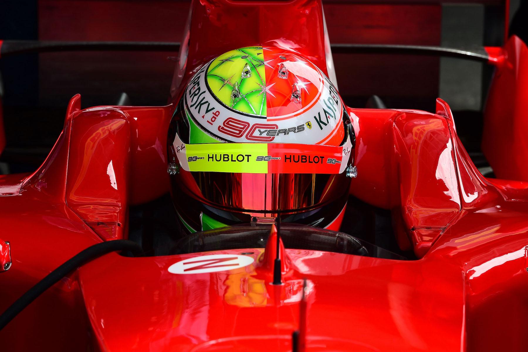 2019 Mick Schumacher | Ferrari F2004 | 2019 German GP 2 copy.jpg