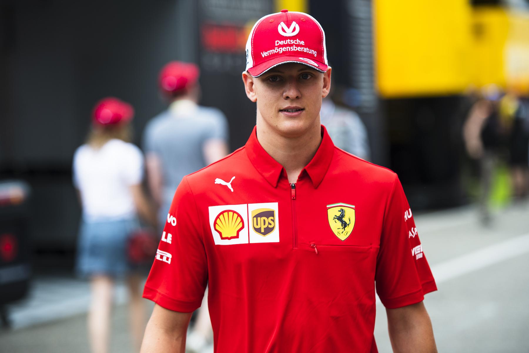 2019 Mick Schumacher | Ferrari F2004 | 2019 German GP 1 copy.jpg