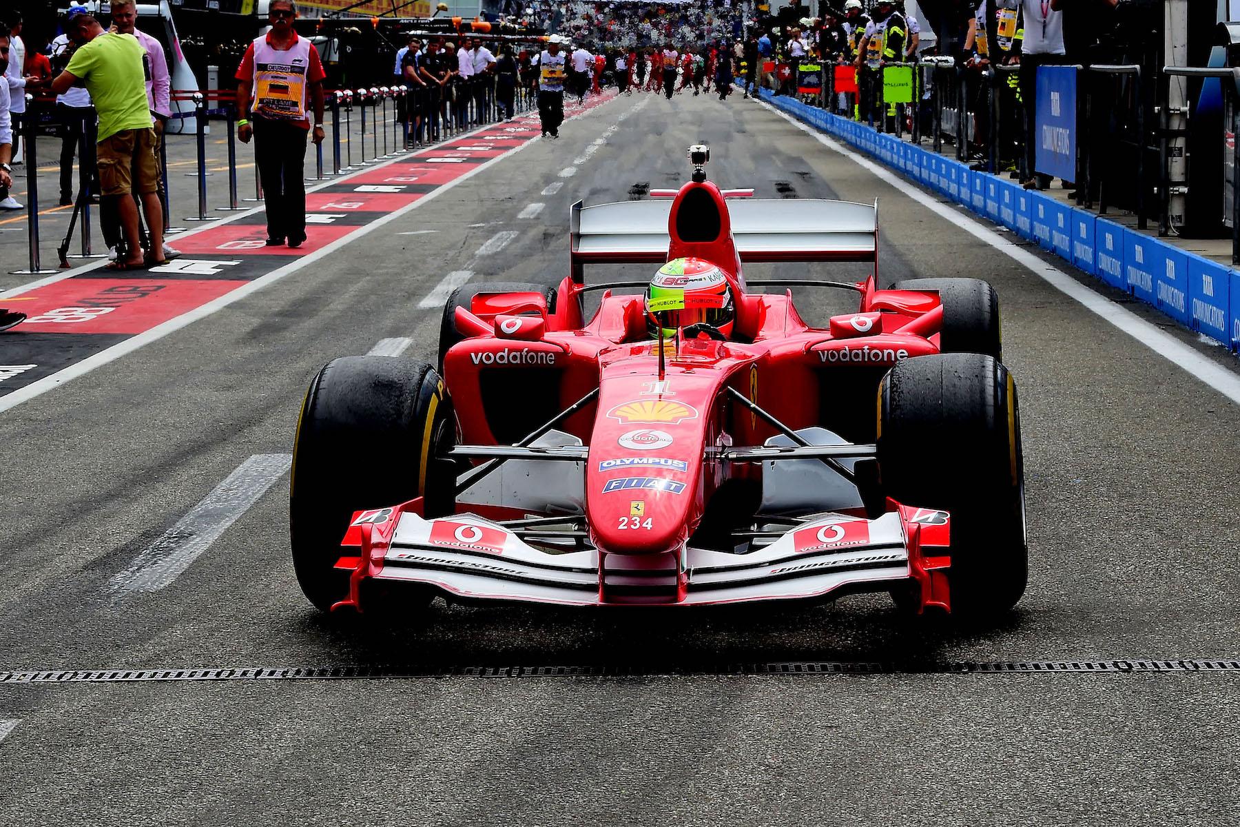 2019 Mick Schumacher | Ferrari F2004 | 2019 German GP 3 copy.jpg