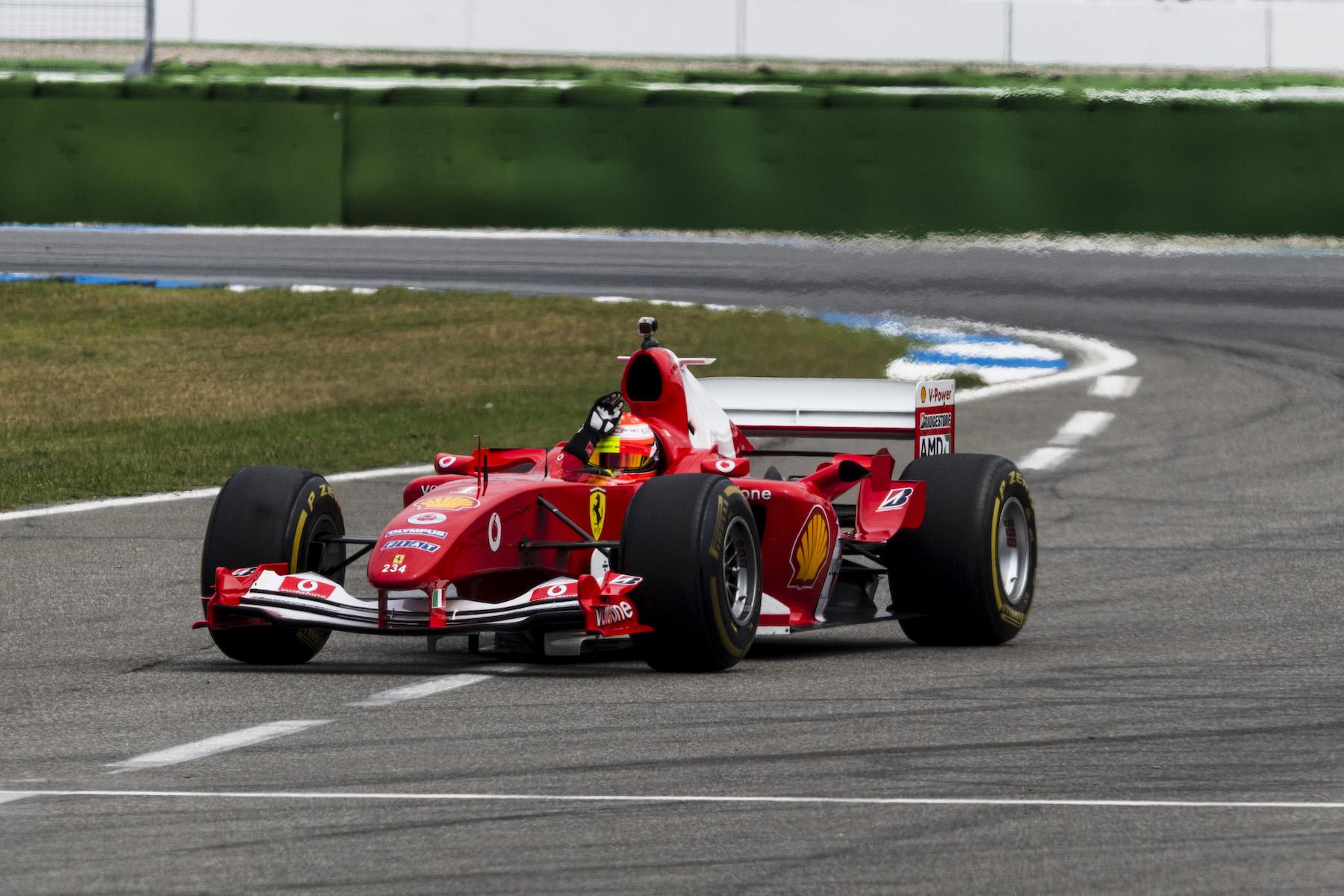 2019 Mick Schumacher | Ferrari F2004 | 2019 German GP 7 copy.jpg