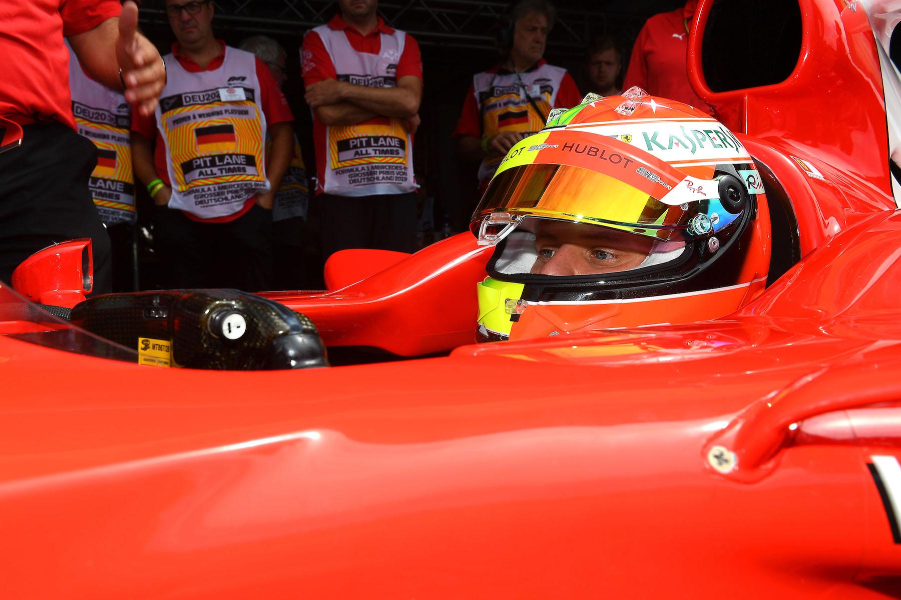2019 Mick Schumacher | Ferrari F2004 | 2019 German GP 13 copy.jpg