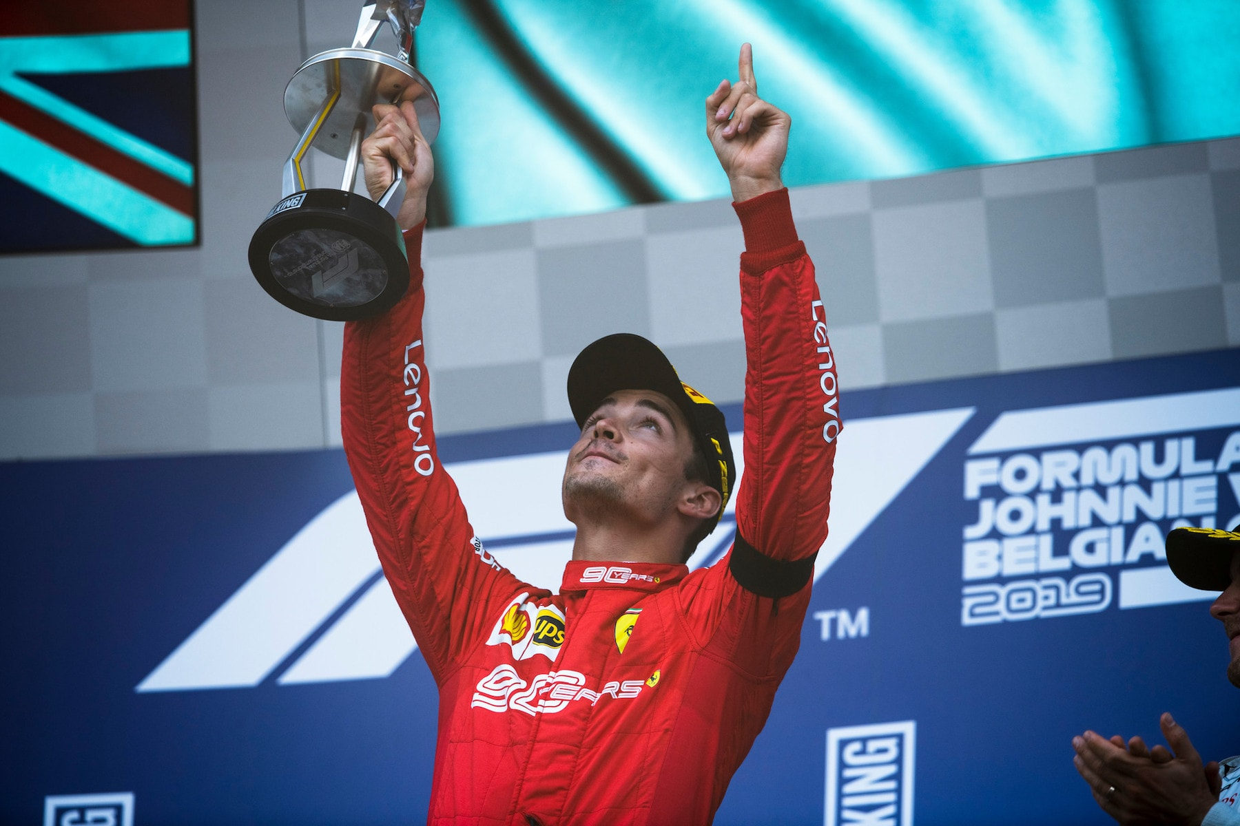 Charles Leclerc | Scuderia Ferrari | P1 at Belgium