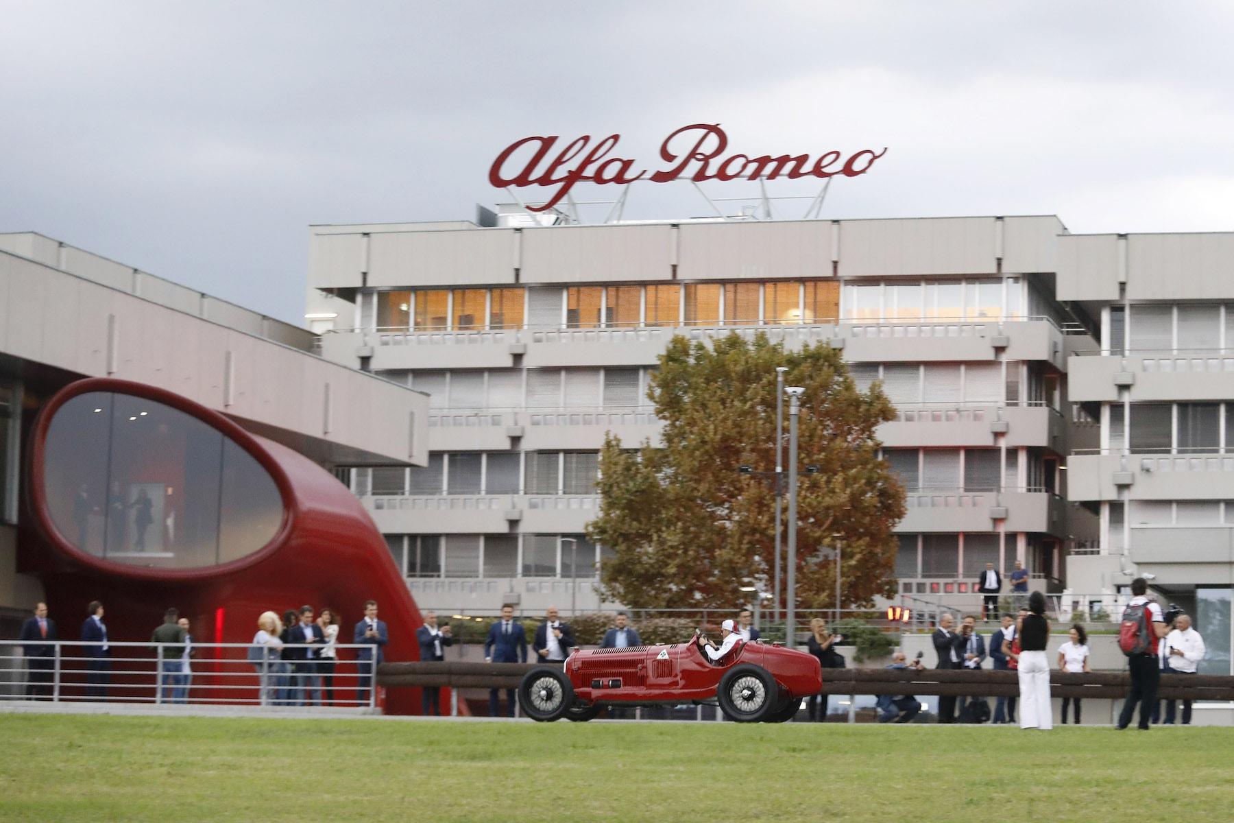 2019 Alfa Romeo at Museo Storico | 2019 Italian GP 4.JPG
