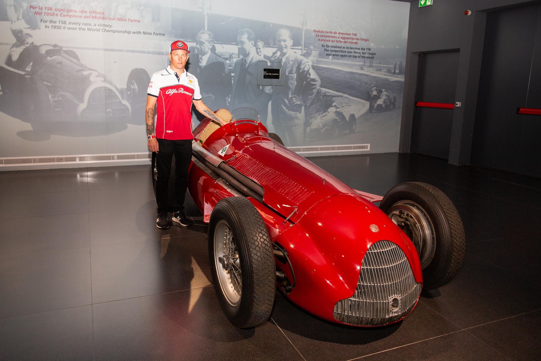 2019 Alfa Romeo at Museo Storico | 2019 Italian GP 7.jpg