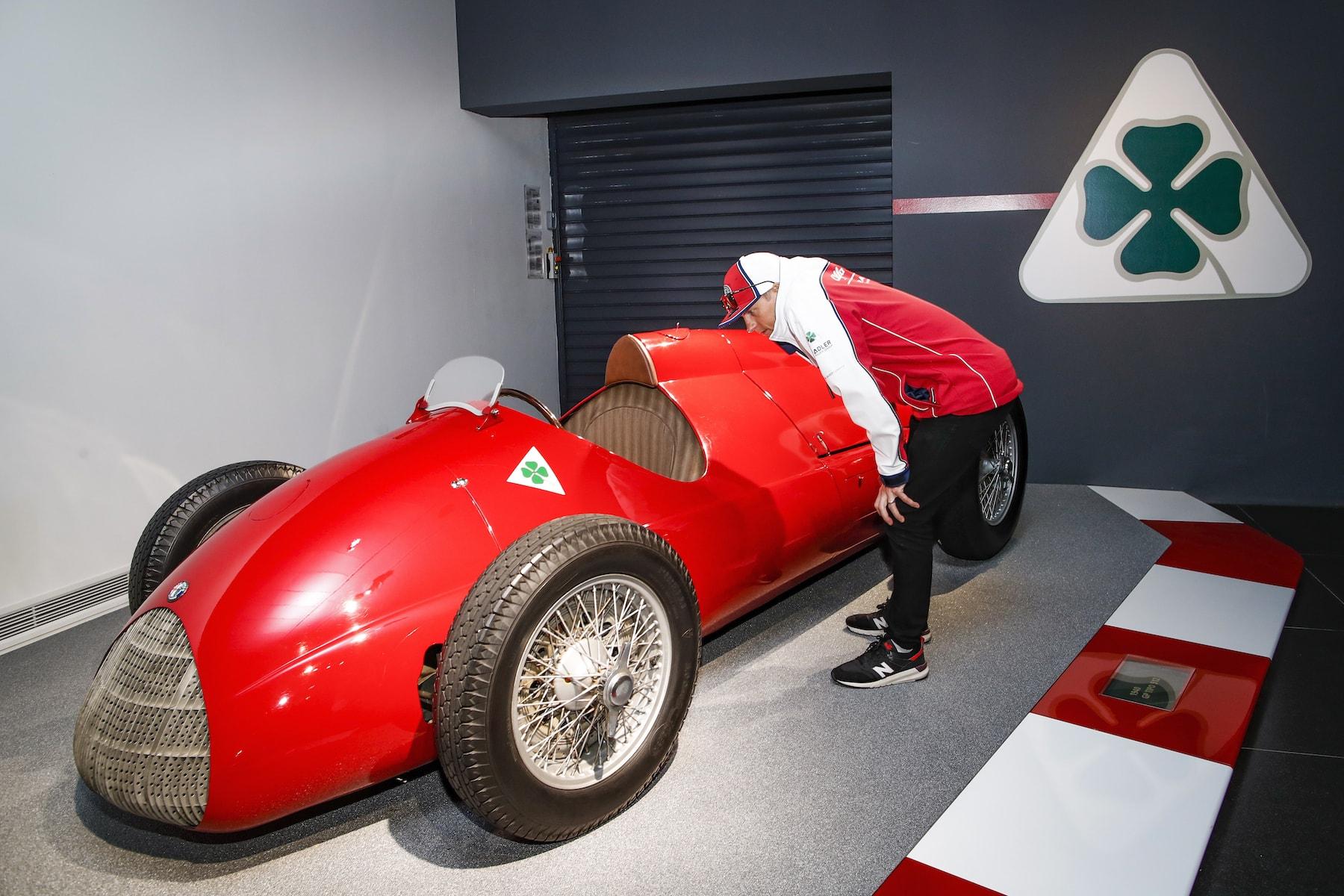 2019 Alfa Romeo at Museo Storico | 2019 Italian GP 13.jpg