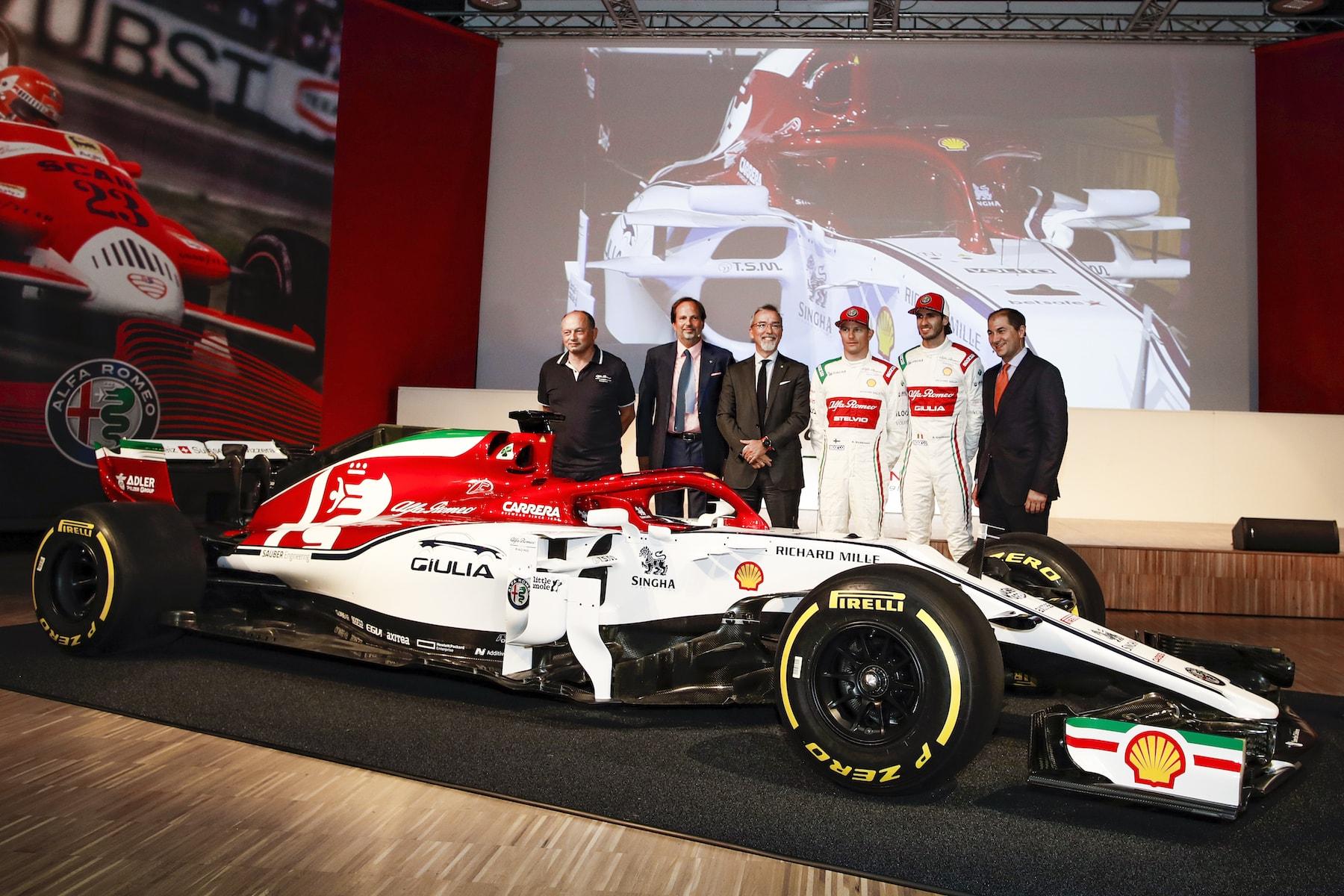 2019 Alfa Romeo at Museo Storico | 2019 Italian GP 18.jpg
