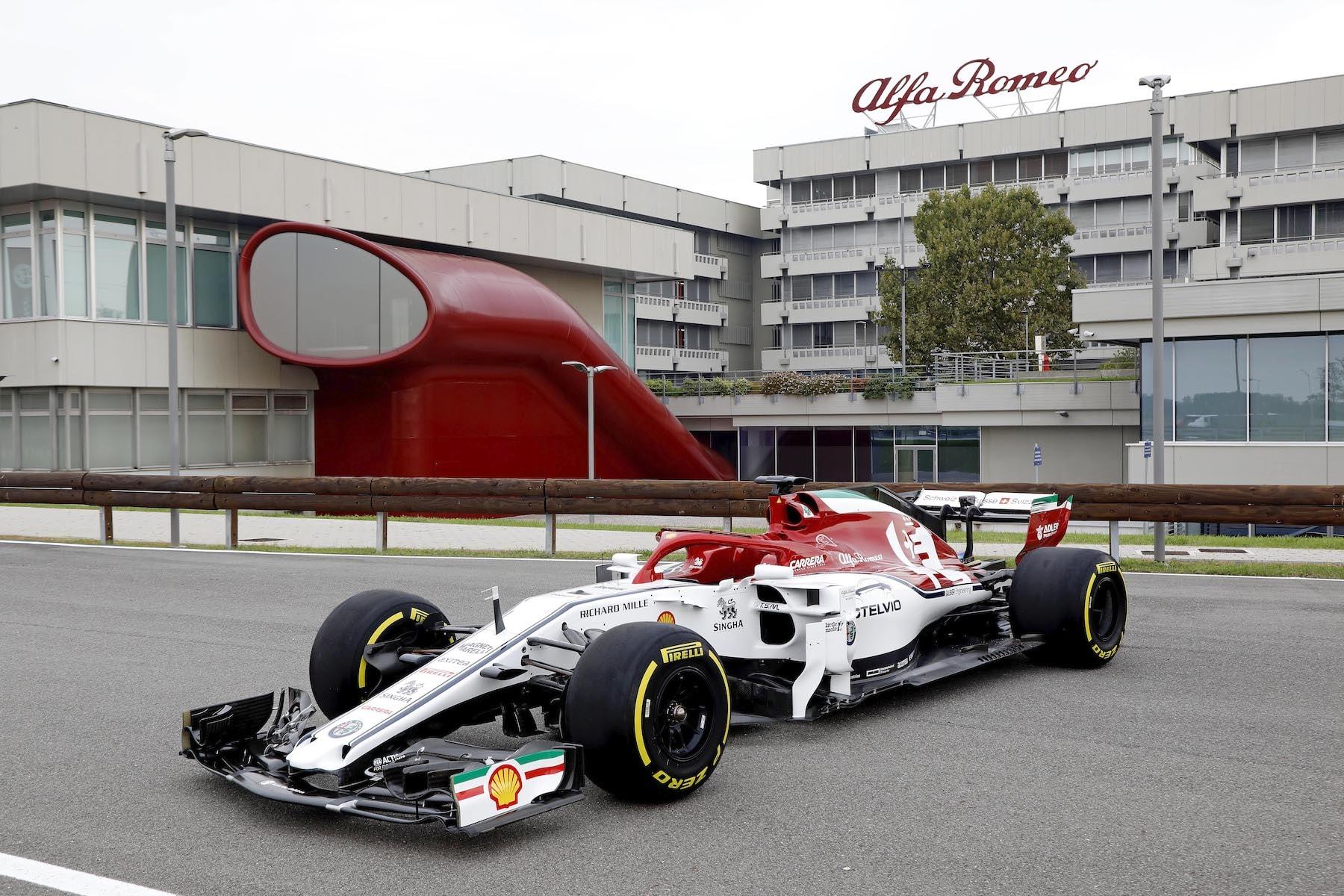 2019 Alfa Romeo at Museo Storico | 2019 Italian GP 22.JPG