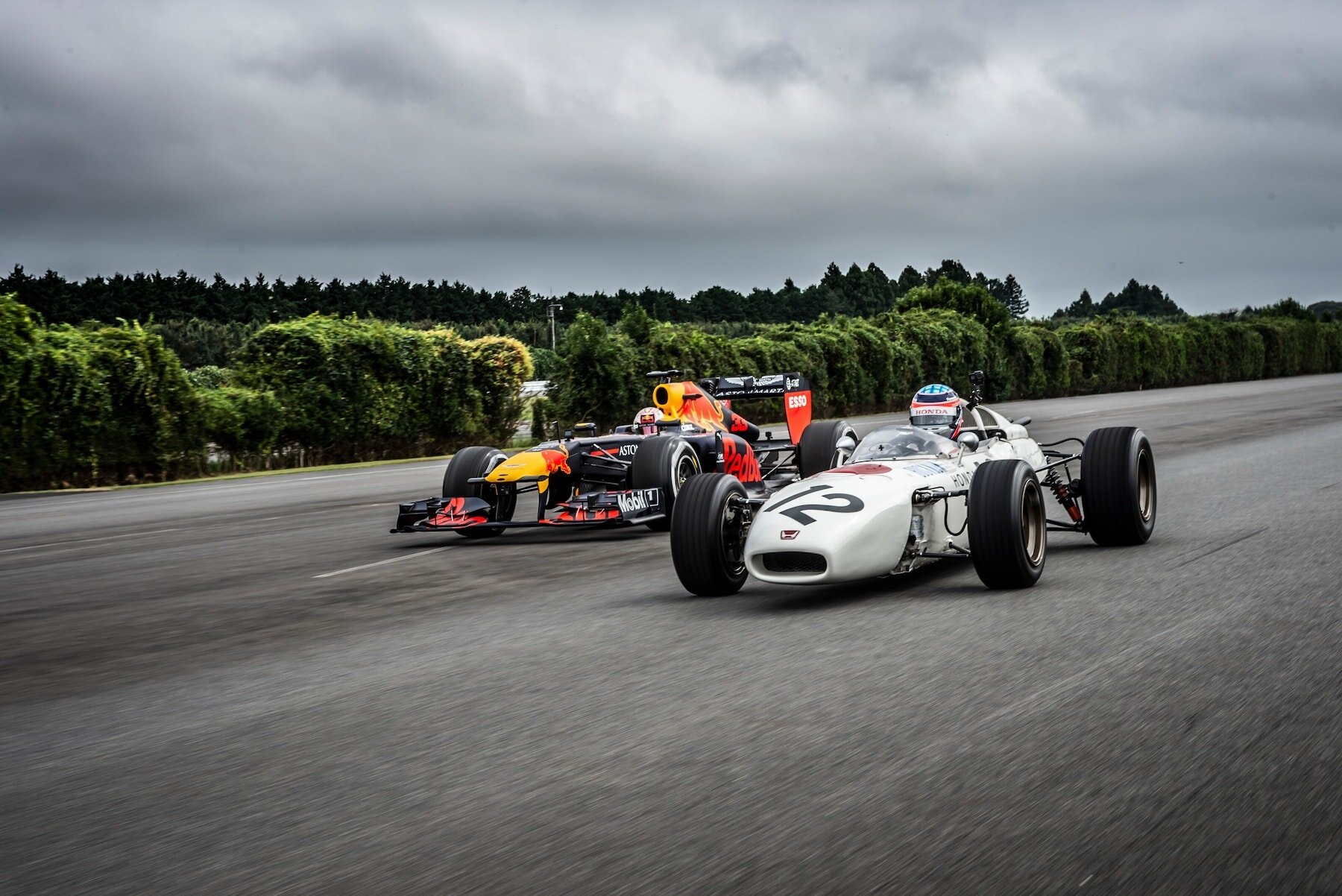 2019 Old and New RA272 and RB7 at Japan 3.jpg