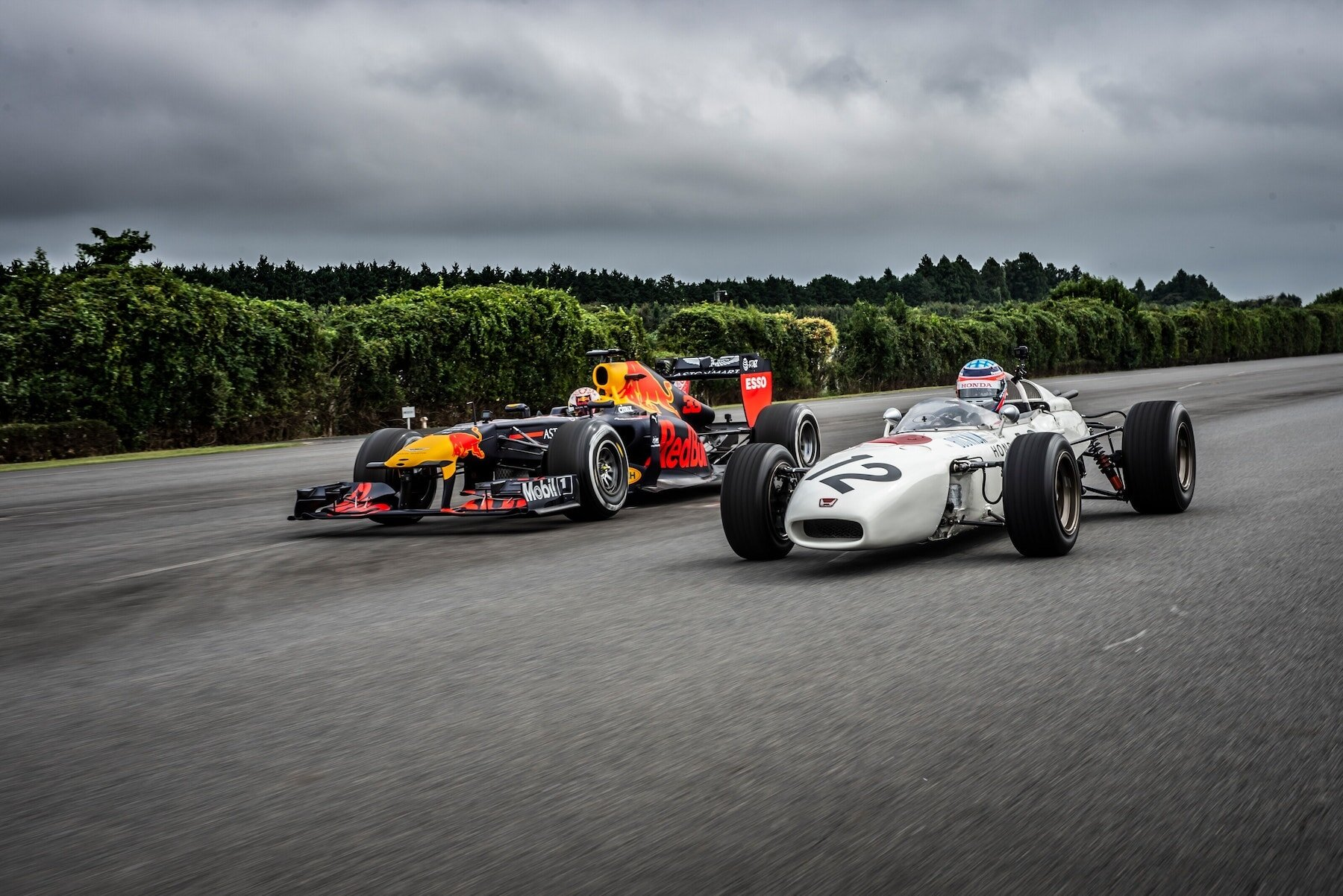 2019 Old and New RA272 and RB7 at Japan 4.jpg