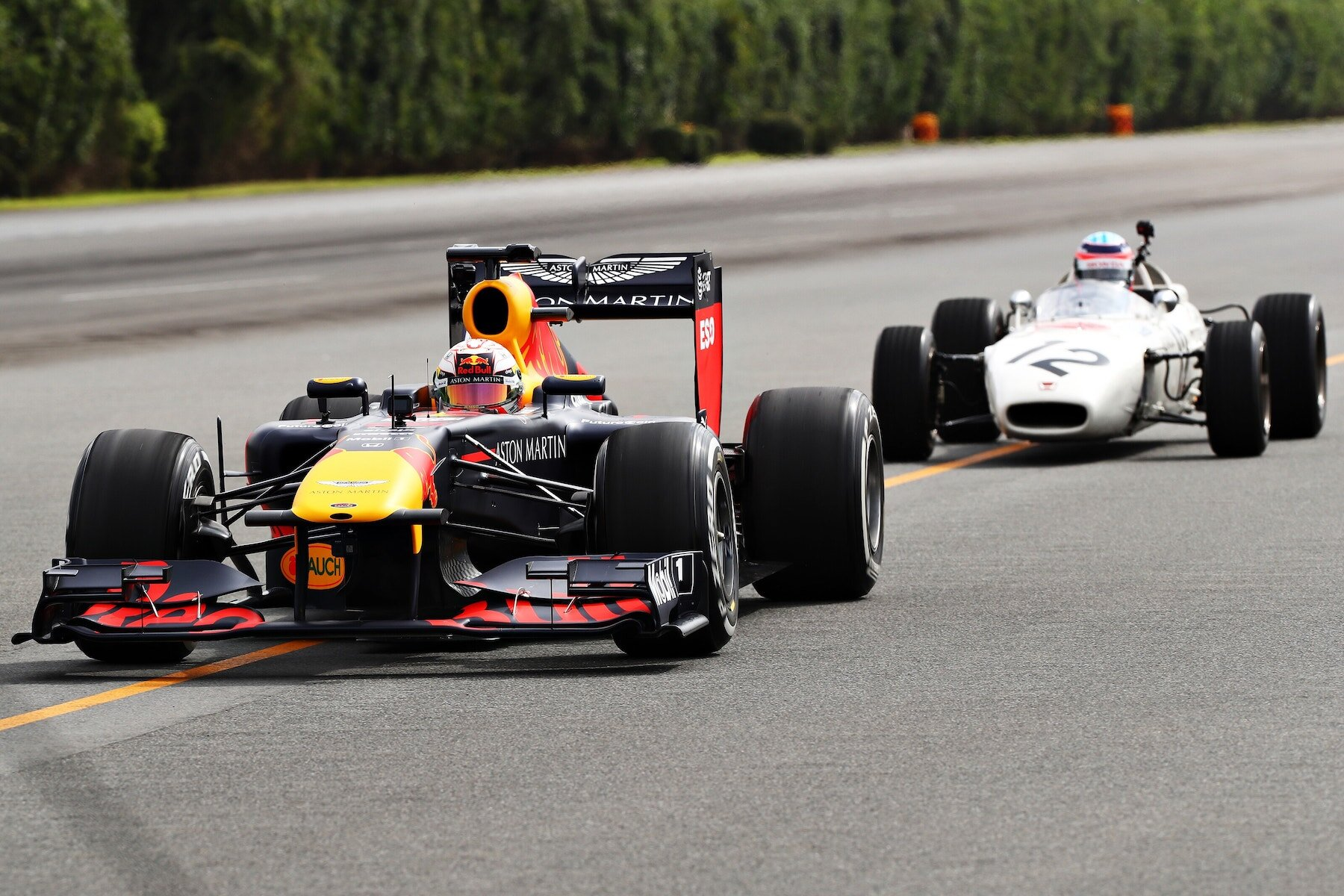 2019 Old and New RA272 and RB7 at Japan 15.jpg