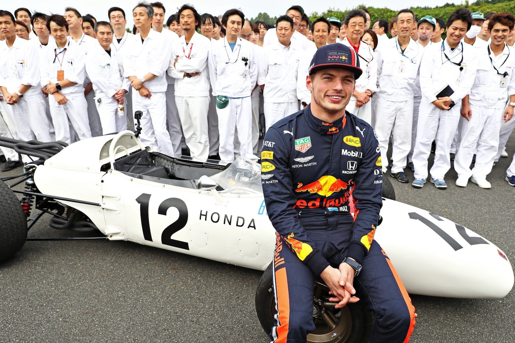 2019 Old and New RA272 and RB7 at Japan 22.jpg