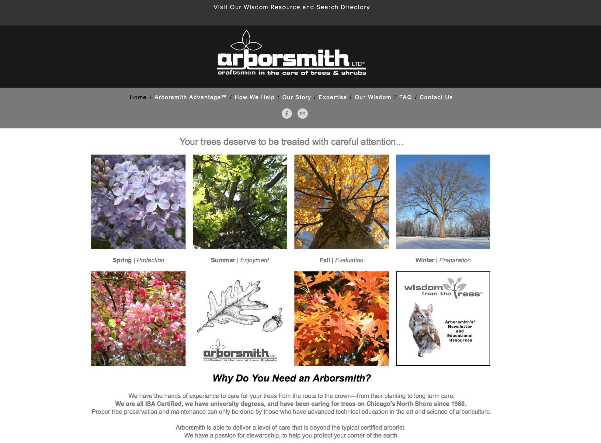 Arborsmith, Ltd. • Gilbert & Lesley Smith   TheArborsmiths.com