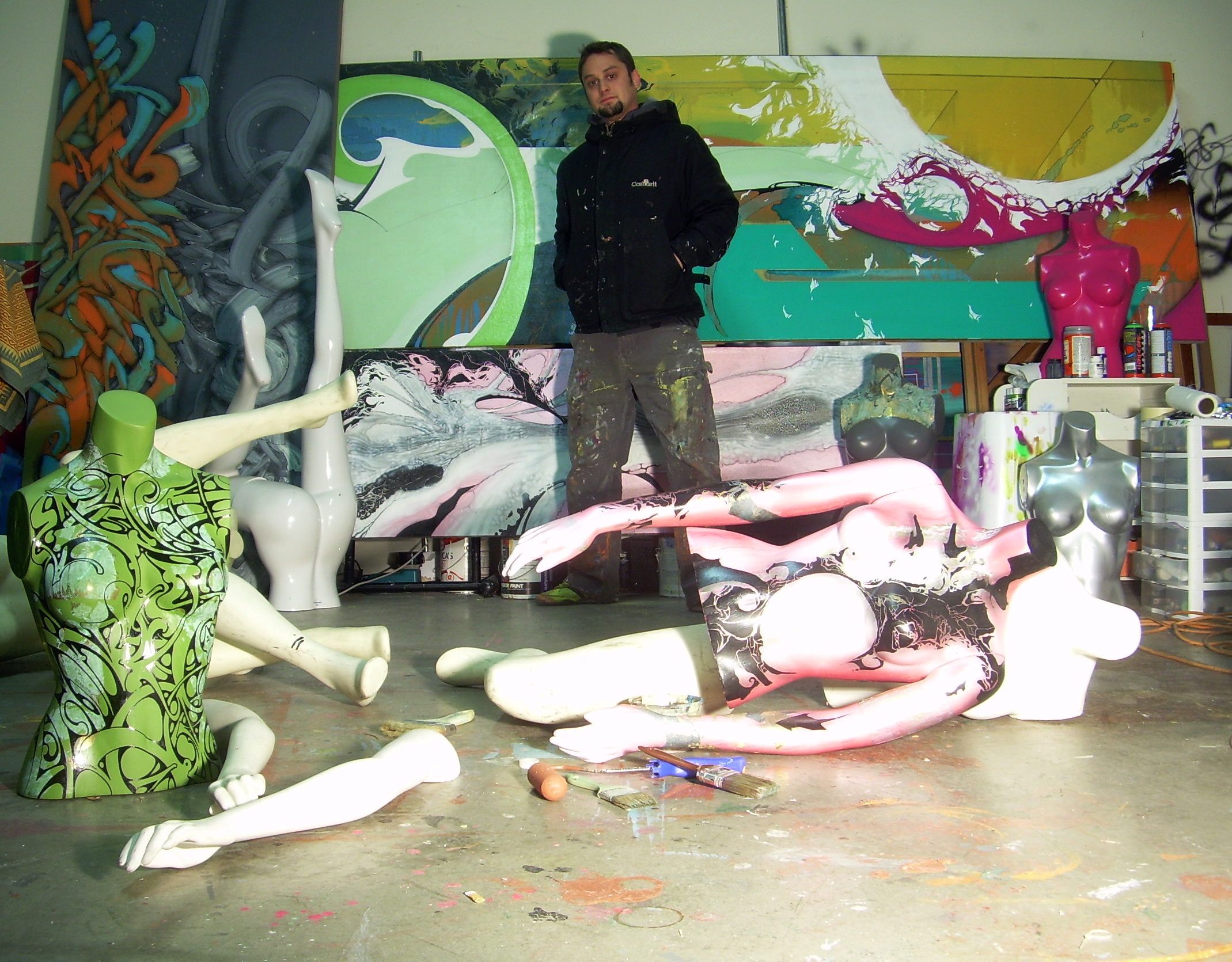 Dutchboy Studios, Oakland, CA, 2010