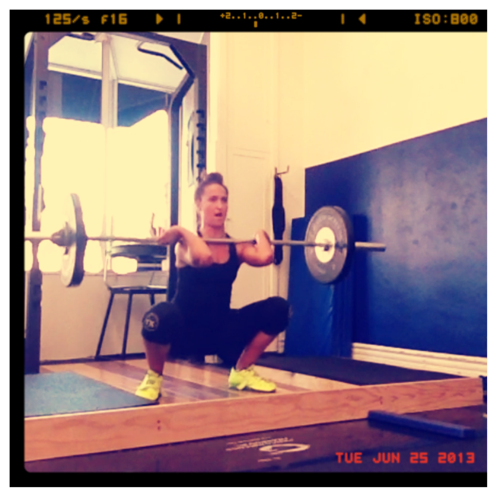 Kerri Lopez, Olympic Lifting training