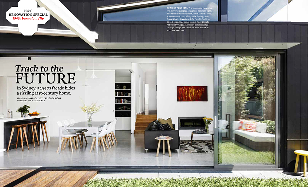 Our 'Back to Front House' in Rodd Point has been featured in an article in the current issue of Australian House and Garden magazine. Thank you to Judy Barouch for the text, and to our lovely clients for making their house available for the photo shoot. Photos of the project and a PDF of the article can be viewed in the SELECTED PROJECTS section.
