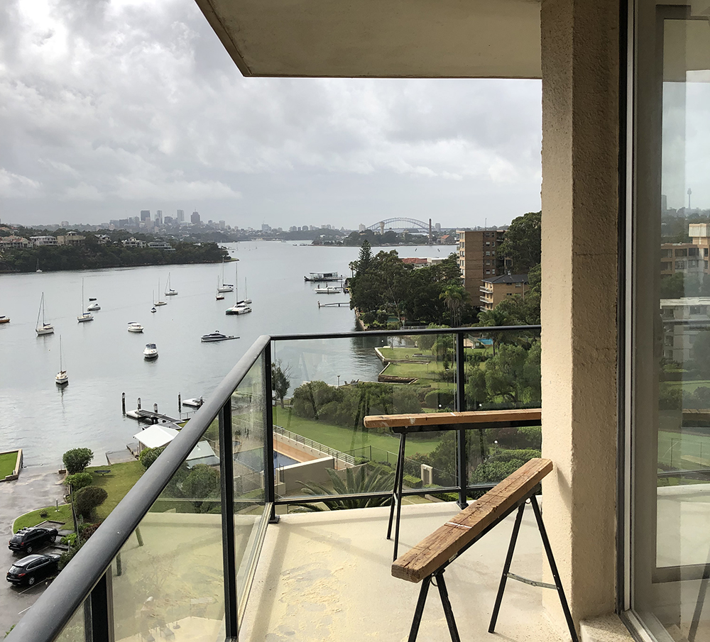 We are nearing completion on the internal renovation of an apartment in Drummoyne. The original 60's building features large wrap-around balconies facing harbour views from every level. Our scope included a full bathroom and kitchen refurbishment with new lighting and fittings. We look forward to sharing more images of the project once complete.