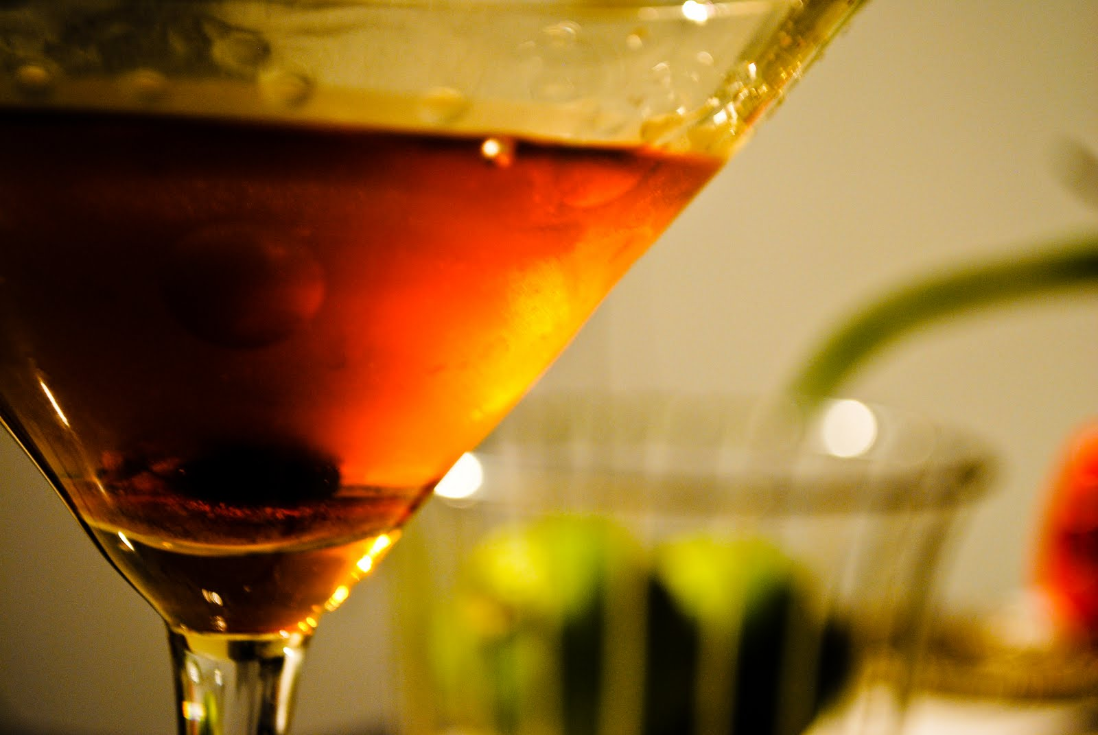 I often like to start the night off with a Manhattan