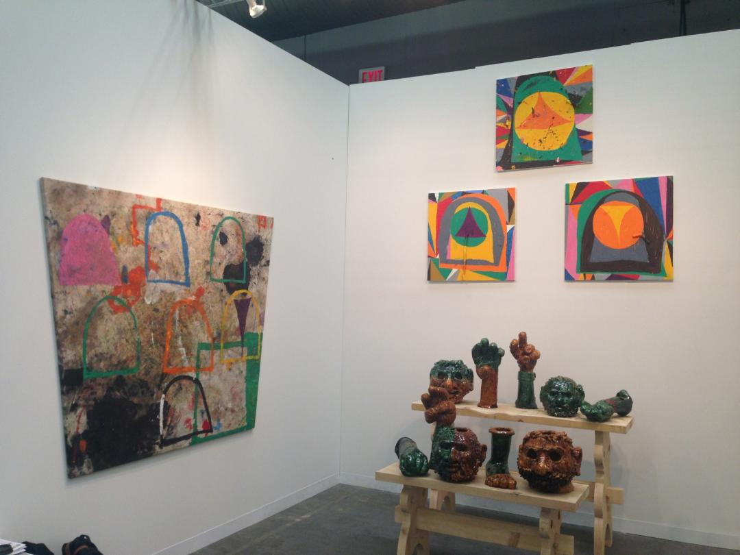 The Armory Show 2014 install