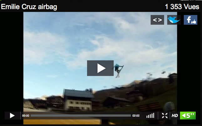 Vidéo airbag