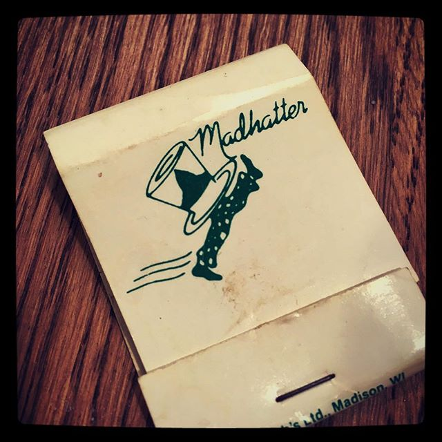 Just lit a candle with a matchbook that's at least a decade older than Facebook. #UW #madison #wisconsin