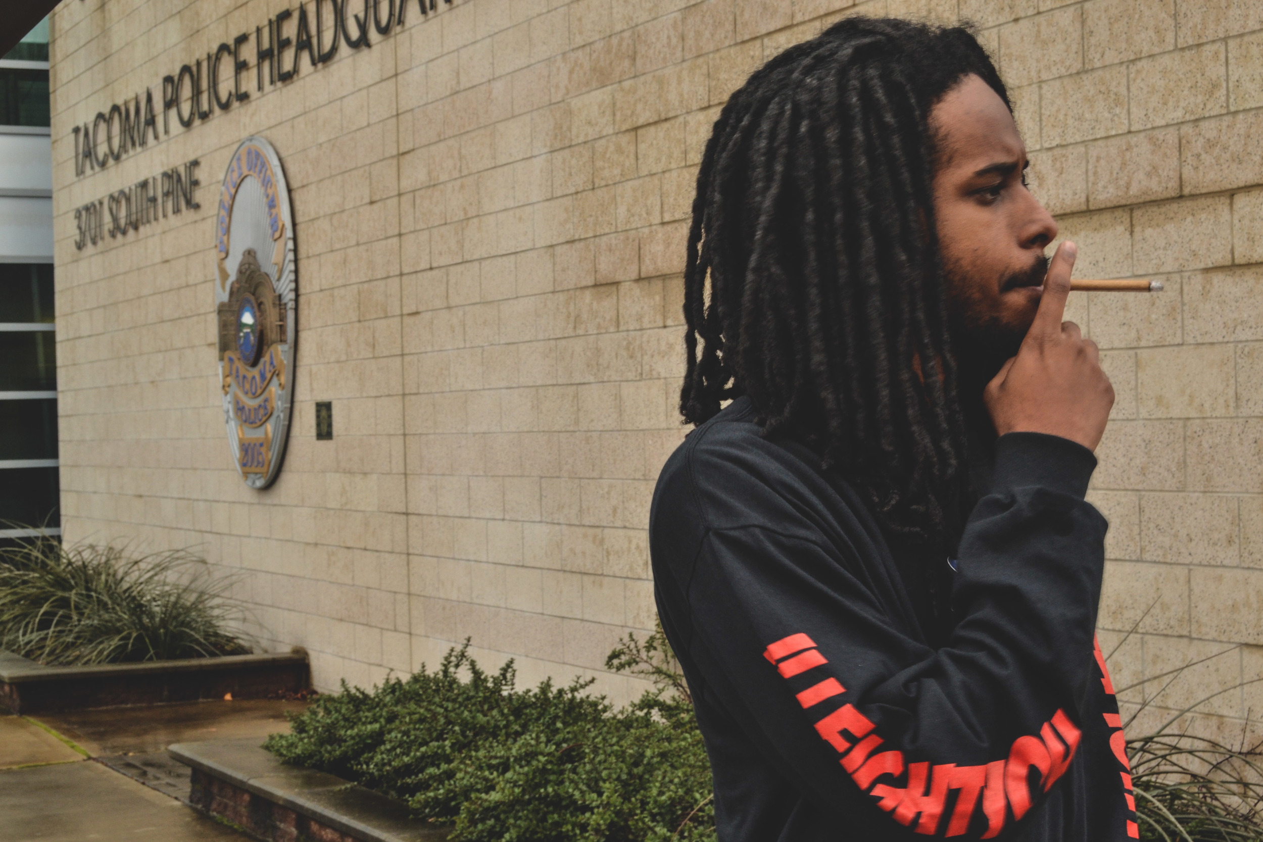 Pictured: KhrisPKream in originally released IFY x eTc longsleeve smoking LOOOUD. Sound the sirens!!   NOTE: The L/S pictured above is no longer available for purchase or pre-order.